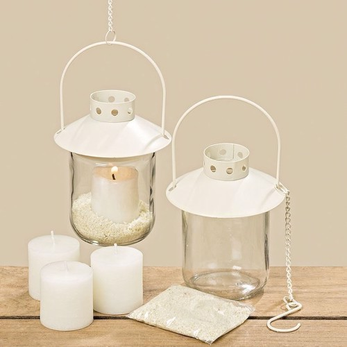 Image of   Lantern Set with Citronella Candles, 6 dlg.