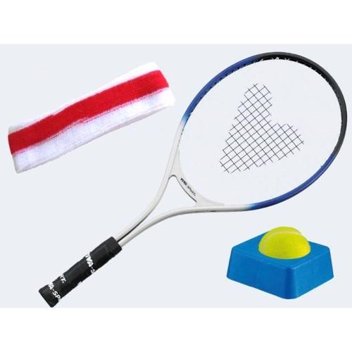 Image of   Tennis træner Sæt mked ketcher.