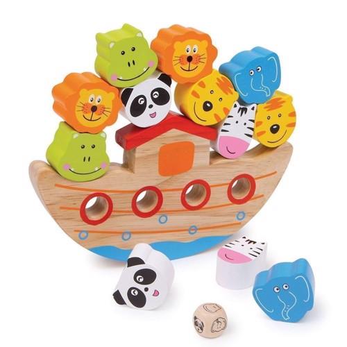 Image of   Balance sjov, Noas ark