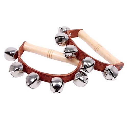 Image of   2 stk klokke musikinstrumenter