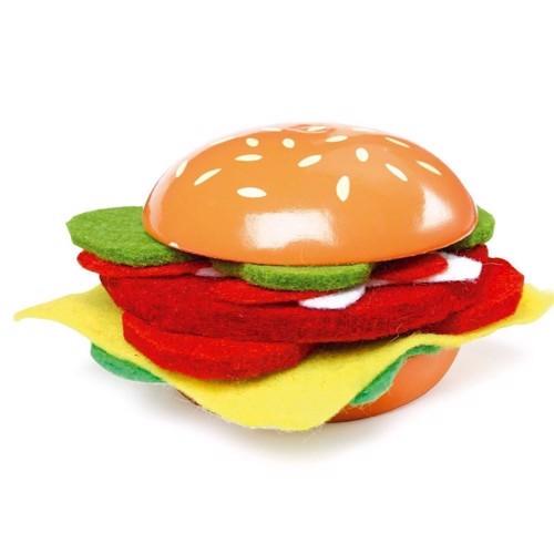 Image of   Cheeseburger legemad, 8 stk