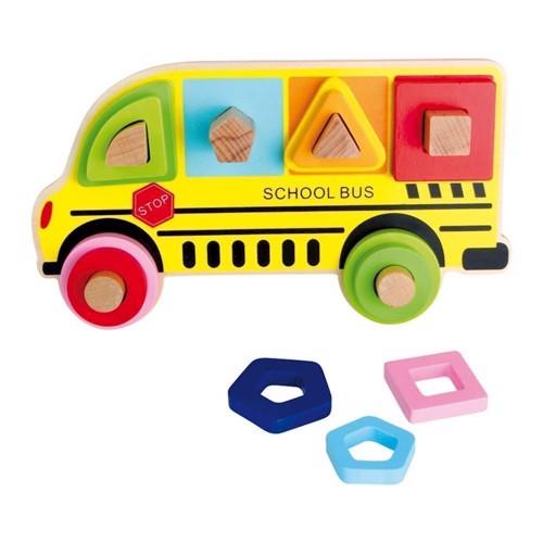 Image of   Stikkesjov, skolebus