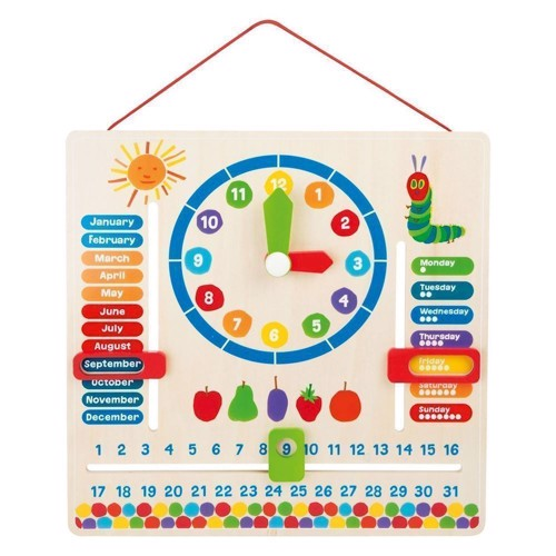 Image of   Den sultne larve, kalender ur