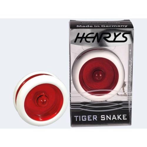 Image of   Henrys Yo-Yo Tiger hvid/rød