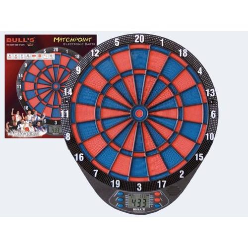 Image of   Elektronisk Dart Matchpoint, op til 4 spillere 21 spil, 6 dartpile