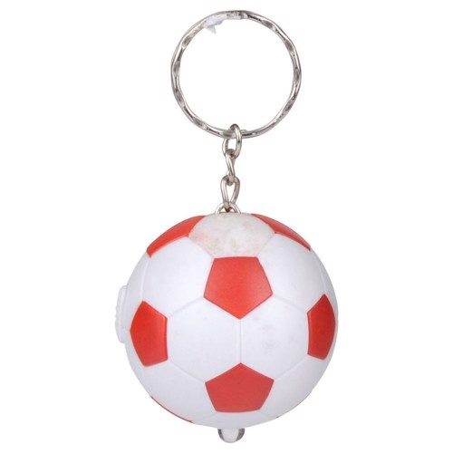 Image of   Nøglering, fodbold med lys