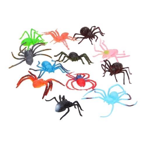 Edderkopper i pose, 12 stk