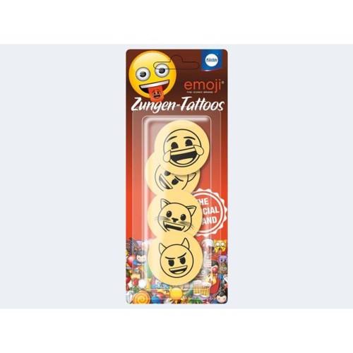 Image of   4 tungetatoveringer Emoji