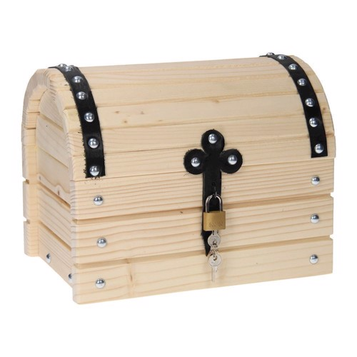 Image of   Pinolino Wooden Treasure Chest