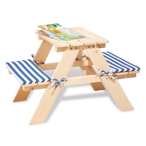 Image of   Piknikbord i træ, til 2 personer