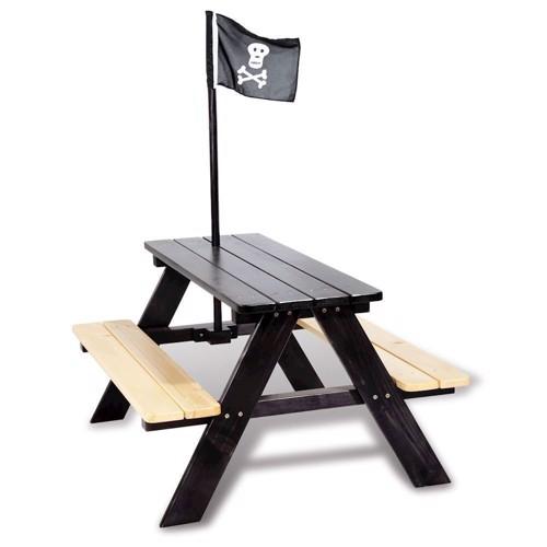 Image of   Piknikbord i træ, til 4 personer pirat