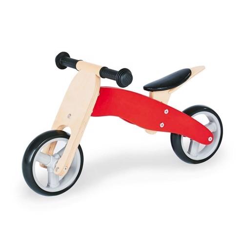 Image of   Charlie 4 i 1 balance cykel i træ
