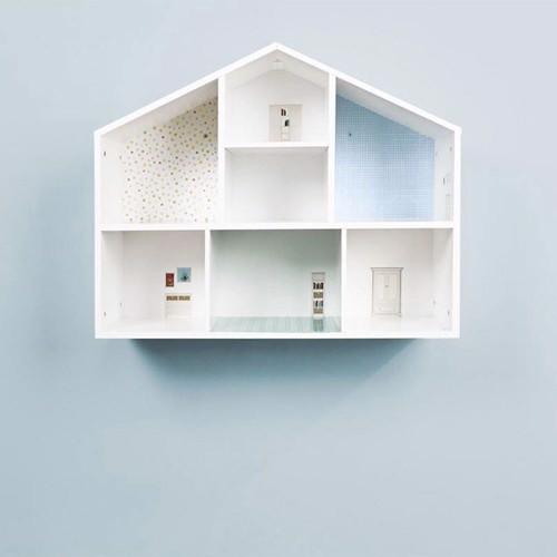 Pinolino Luksus væg dukkehus