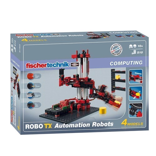 Image of Fischertechnik Robotics, Robo TX Automation Robots, 510 dele (4048962111309)