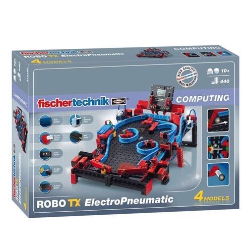 Image of   Fischertechnik Robo TX Electro Pneumatic Robotics, 440 dele