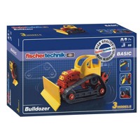 Fischertechnik Advanced, Bulldozer, 85 dele