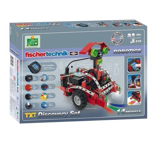 Image of Fischertechnik Robotics Discovery Set-TXT, 310 dele (4048962196115)