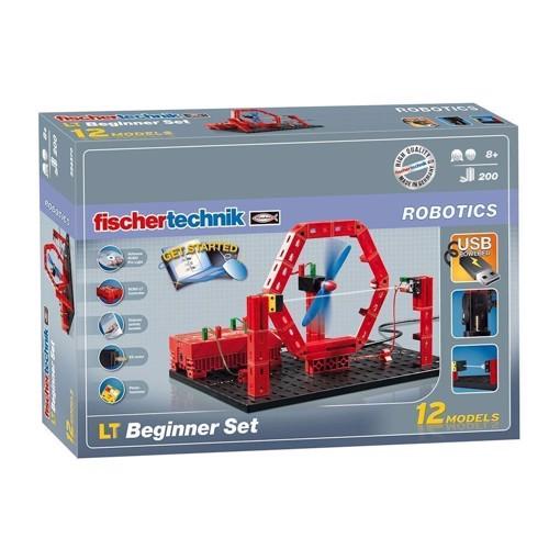 Image of Fischertechnik Robotics, LT begynder sæt, 200 dele (4048962196382)