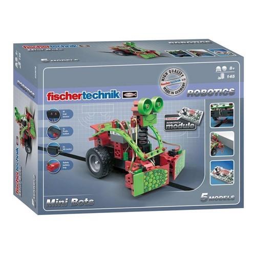 Image of Fischertechnik Robotics, Mini Bots, 145 dele (4048962229745)
