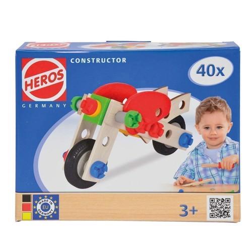 Image of HEROS byggesæt, motor cykel (4051902390122)