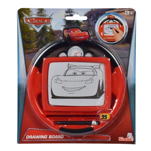 Image of   Cars 3 rat tavle 18cm