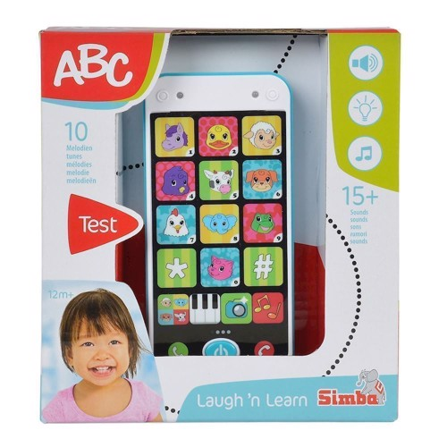Image of ABC legetøjs Smart Phone (4052351018421)