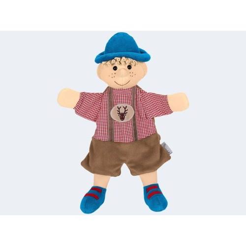 Image of   Dukketeater, Sterntaler hånddukke, drengen Seppel