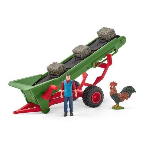 Image of   Schleich fodderbånd med bondemand