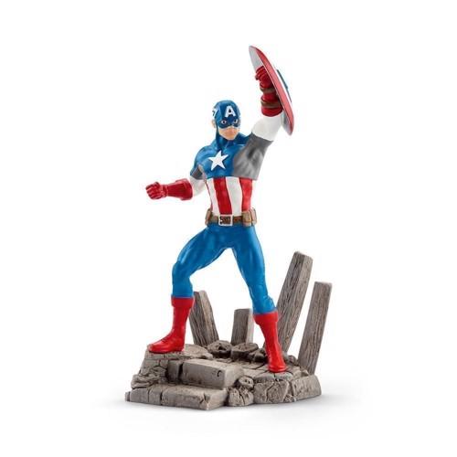 Image of Schleich Captain America (4055744012013)