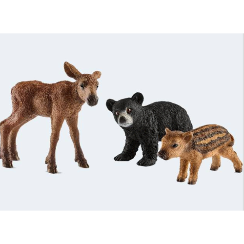 Image of   Schleich vilde dyr sæt med unger