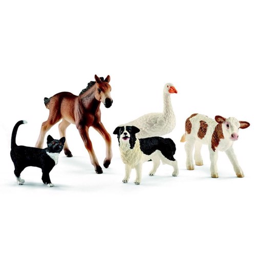 Image of Schleich Farm World, blandede dyr (4055744013737)