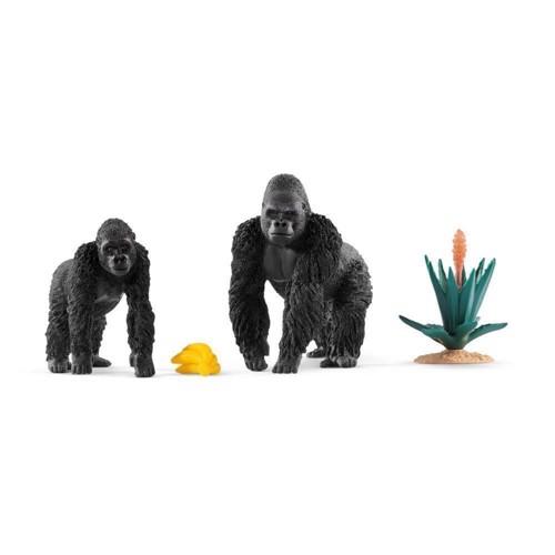 Image of   Schleich gorillaer med mad