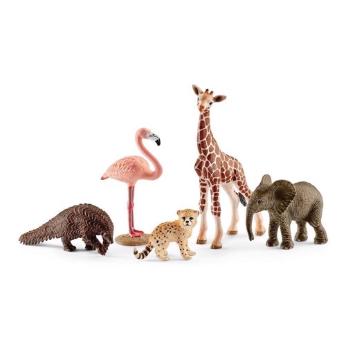 Image of Schleich Wildlife blandede dyr (4055744014062)
