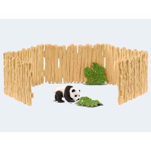 Image of   Schleich indhegning til pandabjørne