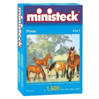 Ministeck Horses 1600 T 4in1