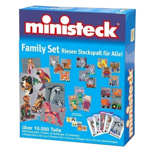 Image of   Ministeck Family Set over 10000 T