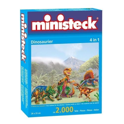 Image of Ministeck med dinosaur, 2000 dele (4250250317991)