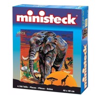 Ministeck Africa Elephant 4700 T