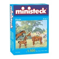Ministeck Horses 1500 T 4in1