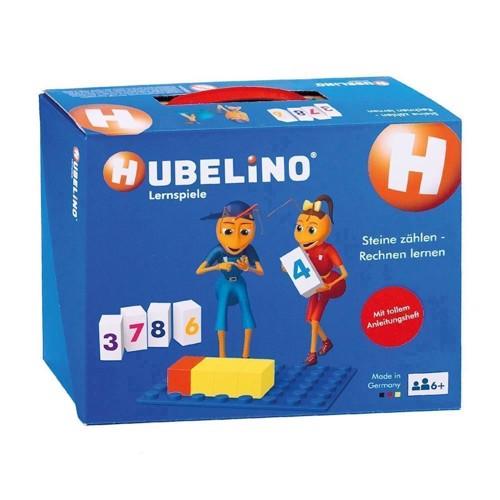 Image of   Hubelino lærer klodser med tal