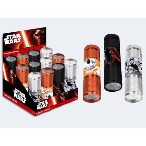 Lommelygte Star Wars 9m, uden batteri
