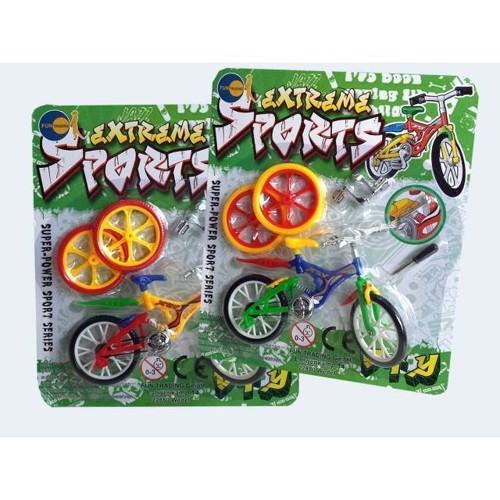 Image of   Finger cykel med tilbehør