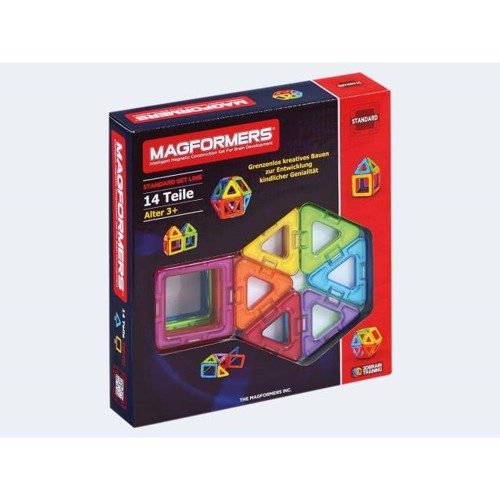 Image of   Magformers Basis 14 dele