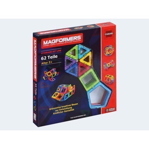Image of   Magformers Basic 62 dele