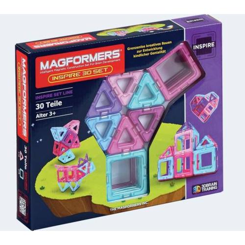 Image of   Magformers Inspirationssæt 30 dele