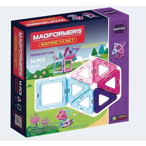 Image of   Magformers Inspirations sæt 14 dele