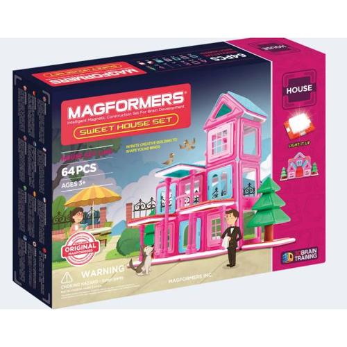 Image of   Magformers hjem kære hjem 64 dele