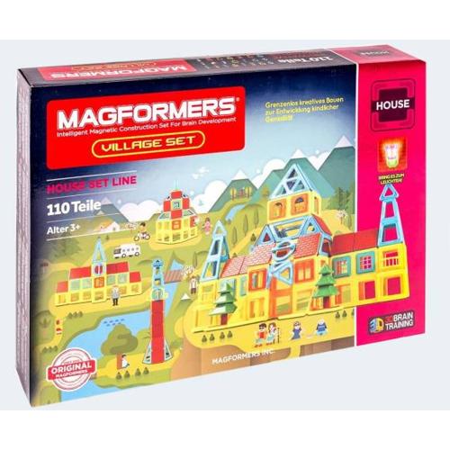 Image of   Magformers Village Sæt 110 dele