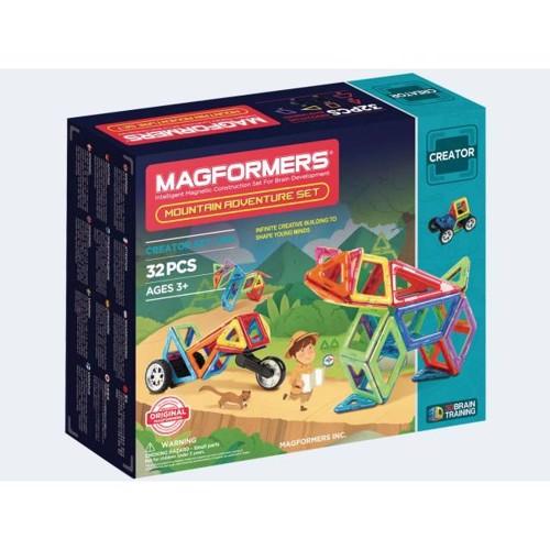 Image of   Magformers Mountainworld Adventure 32 dele