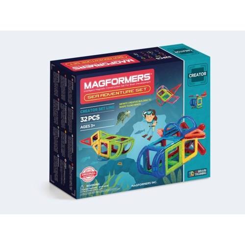 Image of   Magformers Ocean Adventure 32 dele